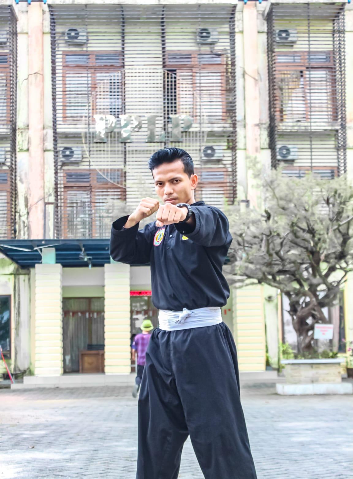 Frenko Ginting Atelt Pencak Silat Asal Kota Binjai