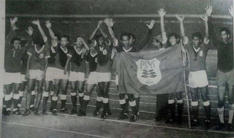 PSMS Medan Pada Ajang Soeharto Cup 1972