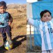 Nasib Murtaza Si Bocah Pemakai Jersey Plastik Argentina