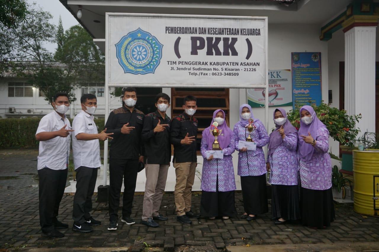 KPOTI Provinsi Sumatera Utara kunjungi Kantor TP PKK Asahan