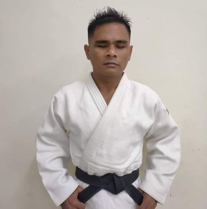 Marten Tri Putra Purba atlet National Paralympic Committee (NPC) Sumatera Utara cabang olahraga Blind Judo