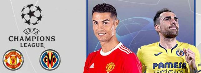 Manchester United Vs Villarreal di Liga Champions. Matchday 2 Grup F Liga Champions 2021/22 di Old Trafford