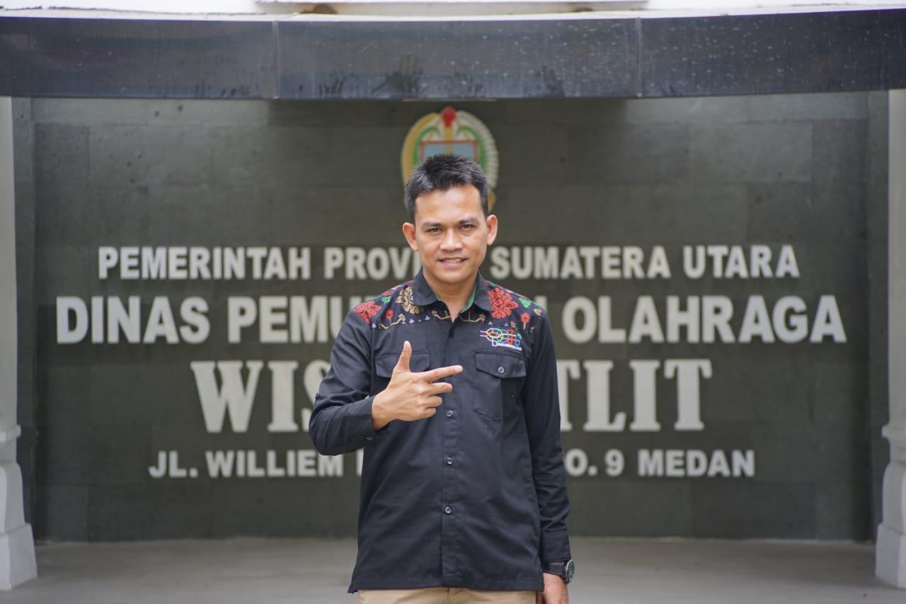HAORNAS 2021, Ketua Komite Permainan Rakyat dan Olahraga Tradisional Indonesia (KPOTI) Sumatera Utara, Agustin Sastrawan