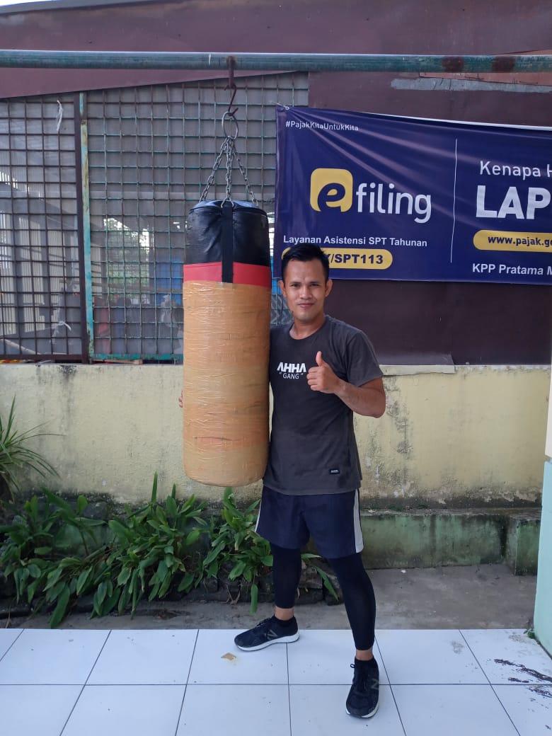 Daniel Pasaribu atau lebih akrab disapa Daniel ini juga menjadi andalan Sumut untuk mendulang medali pada PON XX Papua nanti.