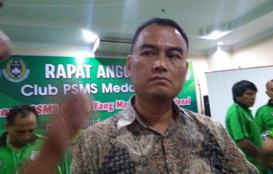 Terpilih Secara Aklamasi, Pria Ini Resmi Jabat Ketum PSMS Medan