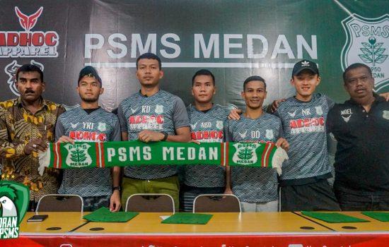 Resmi Perkenalkan 5 Pemain Baru, PSMS Yakin Liga 1